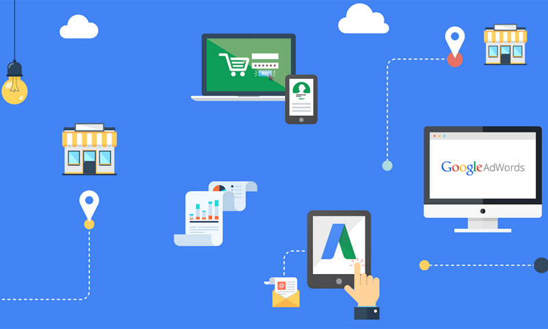 Google AdWords icons